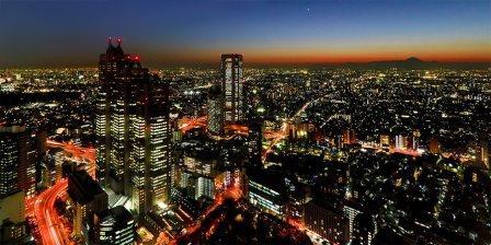 A modern metropolis